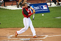 Cincinnati Reds Todd Frazier during the MLB Home Run Derby on July 13, 2015 at Great American Ball Park in Cincinnati, Ohio.  (Mike Janes/Four Seam Images)