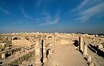 Jordan, Amman. Remains of a Byzantine Church at the Citadel Hill&#xA;&#xA;<br />