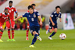 Haraguchi Genki of Japan in action during the AFC Asian Cup UAE 2019 Group F match between Oman (OMA) and Japan (JPN) at Zayed Sports City Stadium on 13 January 2019 in Abu Dhabi, United Arab Emirates. Photo by Marcio Rodrigo Machado / Power Sport Images