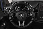 Car pictures of steering wheel view of a 2017 Mercedes Benz Vito-Tourer Pro 4 Door Combi Steering Wheel