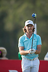 Tommy Fleetwood of England ponders his next move during the 58th UBS Hong Kong Golf Open as part of the European Tour on 10 December 2016, at the Hong Kong Golf Club, Fanling, Hong Kong, China. Photo by Marcio Rodrigo Machado / Power Sport Images