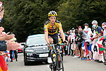 George Bennett (NZL) Team Jumbo-Visma climbs Col de Marie Blanque during Stage 9 of Tour de France 2020, running 153km from Pau to Laruns, France. 6th September 2020. <br /> Picture: Colin Flockton   Cyclefile<br /> All photos usage must carry mandatory copyright credit (© Cyclefile   Colin Flockton)