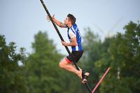 FIERLJEPPEN: IJLST: 24-07-2021,1e klasse fierljeppen, Oane Galama, ©foto Martin de Jong