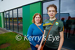 Margaret Lynch, Caherleaheen, Tralee and Emma Lynch (15) pictured after getting her vaccination in Tralee on Tuesday.