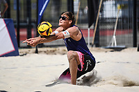 26th June 2020, Dusseldorf, Germany; The German Beach Volleyball League;Max Betzien