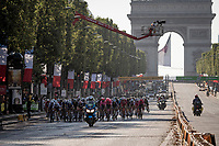 Racing in front of the Arc de Triomphe<br /> <br /> Stage 21 (Final) from Chatou to Paris - Champs-Élysées (108km)<br /> 108th Tour de France 2021 (2.UWT)<br /> <br /> ©kramon
