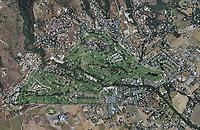aerial photo map of the Silverado Resort and Spa, Napa, Napa County, California