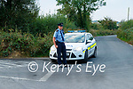 Gardai at the scene of a suspected Murder suicide at Ballyreehan, Lixnaw on Wednesday morning.