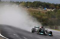 9th October 2021; Formula 1 Turkish Grand Prix 2021 Qualifying sessions at the Istanbul Park Circuit, Istanbul;    44 Lewis Hamilton GBR, Mercedes-AMG Petronas F1 Team rain plume