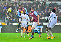 swansea...sport..swansea v aston villa...friday 26th december 2014...<br /> <br /> <br /> Swansea's Nathan Dyer