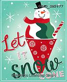 Patrick, CHRISTMAS SANTA, SNOWMAN, WEIHNACHTSMÄNNER, SCHNEEMÄNNER, PAPÁ NOEL, MUÑECOS DE NIEVE, paintings+++++,GBIDSM2477,#x#
