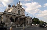 LONDON-UK- 24-05-2008. Brompton Oratory en Londres. .Brompton Oratory, London. Photo: VizzorImage