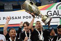PORTO ALEGRE, RS, 23.05.2021 - GREMIO - INTERNACIONAL - O jogador Maicon, da equipe do  Grêmio, na partida entre Grêmio e Internacional, pela final do Campeonato Gaúcho 2021, no estádio Arena do Grêmio, em Porto Alegre, neste domingo (23).