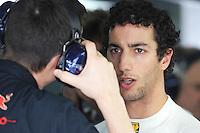 Toro Rosso Australian driver Daniel Ricciardo.24/03/2012 Grand Prix Malesia, Sepang , Essais..Foto Insidefoto  /Bernard Asset / Panoramic.ITALY ONLY..