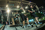 Participants in action during the Bloomberg Square Mile Relay on 3 February 2016 in Dubai,   United Arab Emirates. Photo by Ali Mohajer / Power Sport Images