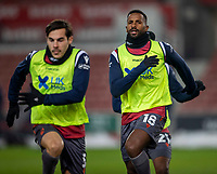 29th December 2020; Bet365 Stadium, Stoke, Staffordshire, England; English Football League Championship Football, Stoke City versus Nottingham Forest; Cafu of Nottingham Forest during the warm up