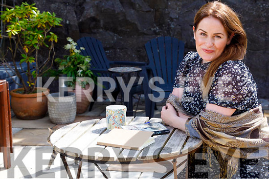 Moya Farrelly at home in Dingle on Monday