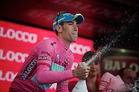 2013 Giro d'Italia.stage 12.Longarone - Treviso: 134km..overall leader Vincenzo Nibali (ITA)