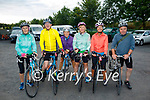 The A Team ready for road in the Tom Crean Cycle fundraiser for Down Syndrome Kerry  on Saturday morning, l to r: Bobs Barry, Liam Gowan, Nuala Brassil, Bridget O'Connor, Tracy O'Flaherty and Graham Harrett (All Tralee).
