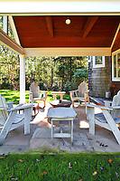 vintage white patio furniture