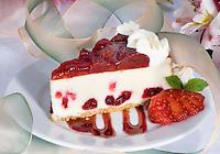 Strawberry Cheesecake Slic