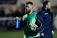 Ed Hoadley of London Scottish during the Greene King IPA Championship match between London Scottish Football Club and Nottingham Rugby at Richmond Athletic Ground, Richmond, United Kingdom on 7 February 2020. Photo by Carlton Myrie.