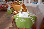 Goody bags at the River Oaks International Tennis Tournament Luncheon at the River Oaks Country Club Wednesday April 16,2008. (Dave Rossman/For the Chronicle)