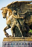 "Memorial Bridge Statues Washington DC.""The Arts of Peace"""
