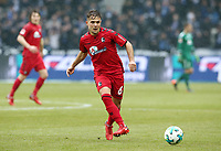 Amir Abrashi      <br /> / Sport / Football / DFL 1. Bundesliga Bundesliga  /  2017/2018 / 10.03.2018 / Hertha BSC Berlin vs. SC Freiburg SCF 18031040 /  *** Local Caption *** © pixathlon<br /> Contact: +49-40-22 63 02 60 , info@pixathlon.de