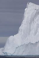 Tall  Iceberg near Joinville Island, Antarctic peninsula,Weddel Sea, Southern Ocean, Antarctica