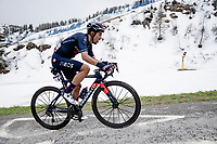Daniel Felipe Martínez (COL/INEOS Grenadiers) up the final part of the Monte Zoncolan <br /> <br /> 104th Giro d'Italia 2021 (2.UWT)<br /> Stage 14 from Cittadella›Monte Zoncolan (205km)<br /> <br /> ©kramon