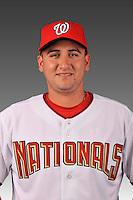 14 March 2008: ..Portrait of Eduardo Baeza, Washington Nationals Minor League player at Spring Training Camp 2008..Mandatory Photo Credit: Ed Wolfstein Photo