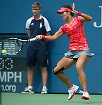 Na Li (CHN) defeats Laura Robson (GBR), 6-2, 7-5 at the US Open being played at USTA Billie Jean King National Tennis Center in Flushing, NY on August 30, 2013