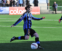 Dames Zulte Waregem - Club Brugge : Lore Dezeure.foto Joke Vuylsteke / Vrouwenteam.be