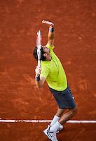 03-06-12, France, Paris, Tennis, Roland Garros, Juan Martin Del Potro