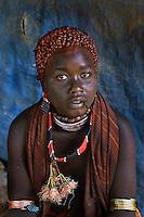 Hato Hiala, Hamer tribe woman at Dimeka Market, 2006