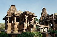 Chhatri der Rajputen von Jodhpur in Mandore bei Jodhpur (Rajasthan)