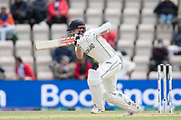 Kane Williamson, New Zealand drives through the off side during India vs New Zealand, ICC World Test Championship Final Cricket at The Hampshire Bowl on 22nd June 2021