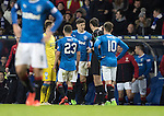 Rangers v St Johnstone…01.03.17     SPFL    Ibrox<br />Rob Kiernan is sent off<br />Picture by Graeme Hart.<br />Copyright Perthshire Picture Agency<br />Tel: 01738 623350  Mobile: 07990 594431