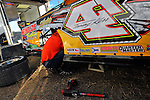 Feb 08, 2010; 4:43:31 PM; Barberville, FL., USA; The UNOH sponsored event running the 39th Annual DIRTCar Nationals at Volusia Speedway Park.  Mandatory Credit: (thesportswire.net)