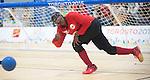 Aron Ghebreyohannes, Toronto 2015 - Goalball.<br /> Canada's men's Goalball team plays in the bronze medal game // L'équipe masculin de goalball du Canada participe au match pour la médaille de bronze. 15/08/2015.