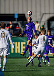 5 October 2019: University at Albany Great Dane Defender Kaio DaSilva, a Junior from White Plains, NY, in action against the University of Vermont Catamounts at Virtue Field in Burlington, Vermont. The Catamounts fell to the visiting Danes 3-1 in America East, Division 1 play. Mandatory Credit: Ed Wolfstein Photo *** RAW (NEF) Image File Available ***