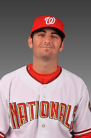 14 March 2008: ..Portrait of Patrick McCoy, Washington Nationals Minor League player at Spring Training Camp 2008..Mandatory Photo Credit: Ed Wolfstein Photo