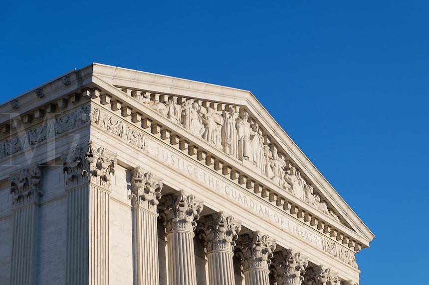 Supreme Court Building, eastern facade, Washington D.C., USA