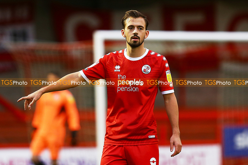 Jack Powell of Crawley Town during Crawley Town vs Carlisle United, Sky Bet EFL League 2 Football at Broadfield Stadium on 21st November 2020