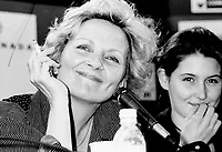Montreal (QC) Canada- 1994 File Photo - World Film Festival - France Castel (L)