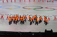 OLYMPIC GAMES: PYEONGCHANG: 09-02-2018, PyeongChang Olympic Stadium, Olympic Games, Opening Ceremony, Entrance Team The Netherlands, ©photo Martin de Jong