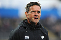 Head Coach Allen Clarke of Ospreys during the Guinness Champions Cup play-off match between the Ospreys and Scarlets at the Liberty Stadium in Swansea, Wales, UK.  Saturday 18 May 2019