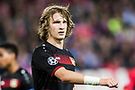 Tin Jedvaj of Bayer 04 Leverkusen looks on during their 2016-17 UEFA Champions League Round of 16 second leg match between Atletico de Madrid and Bayer 04 Leverkusen at the Estadio Vicente Calderon on 15 March 2017 in Madrid, Spain. Photo by Diego Gonzalez Souto / Power Sport Images