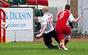 Stirling's Jordan White (9) scores their second goal.